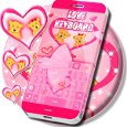 Pink Love Free Keyboard