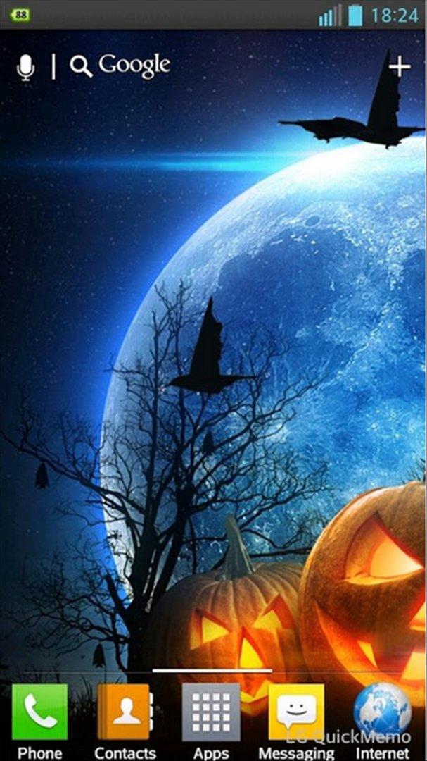 Halloween HD Live Wallpaper Gameplay Images