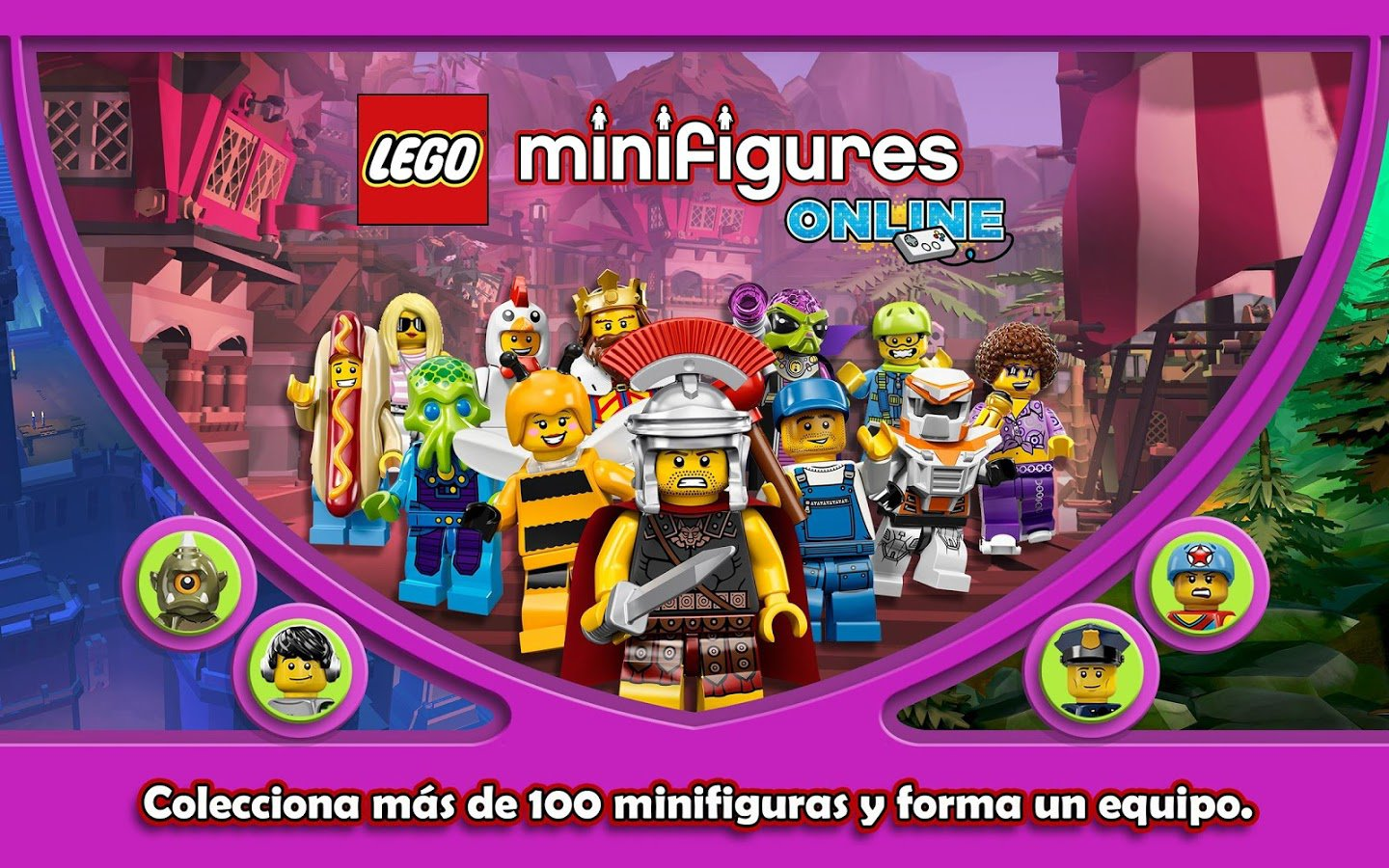How to sign up for lego minifigures online and download link.