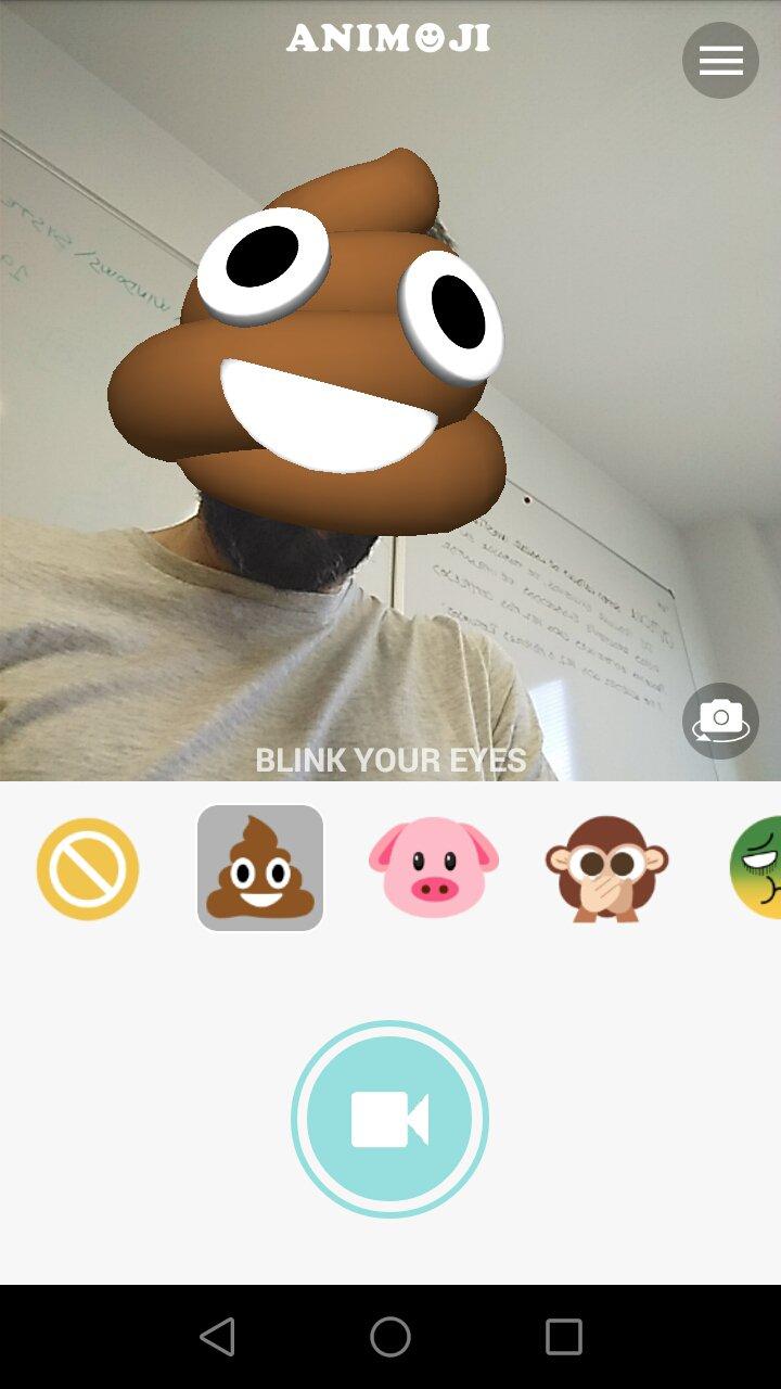 Animoji for phone X + Live Emoji Face Swap Emoticon for